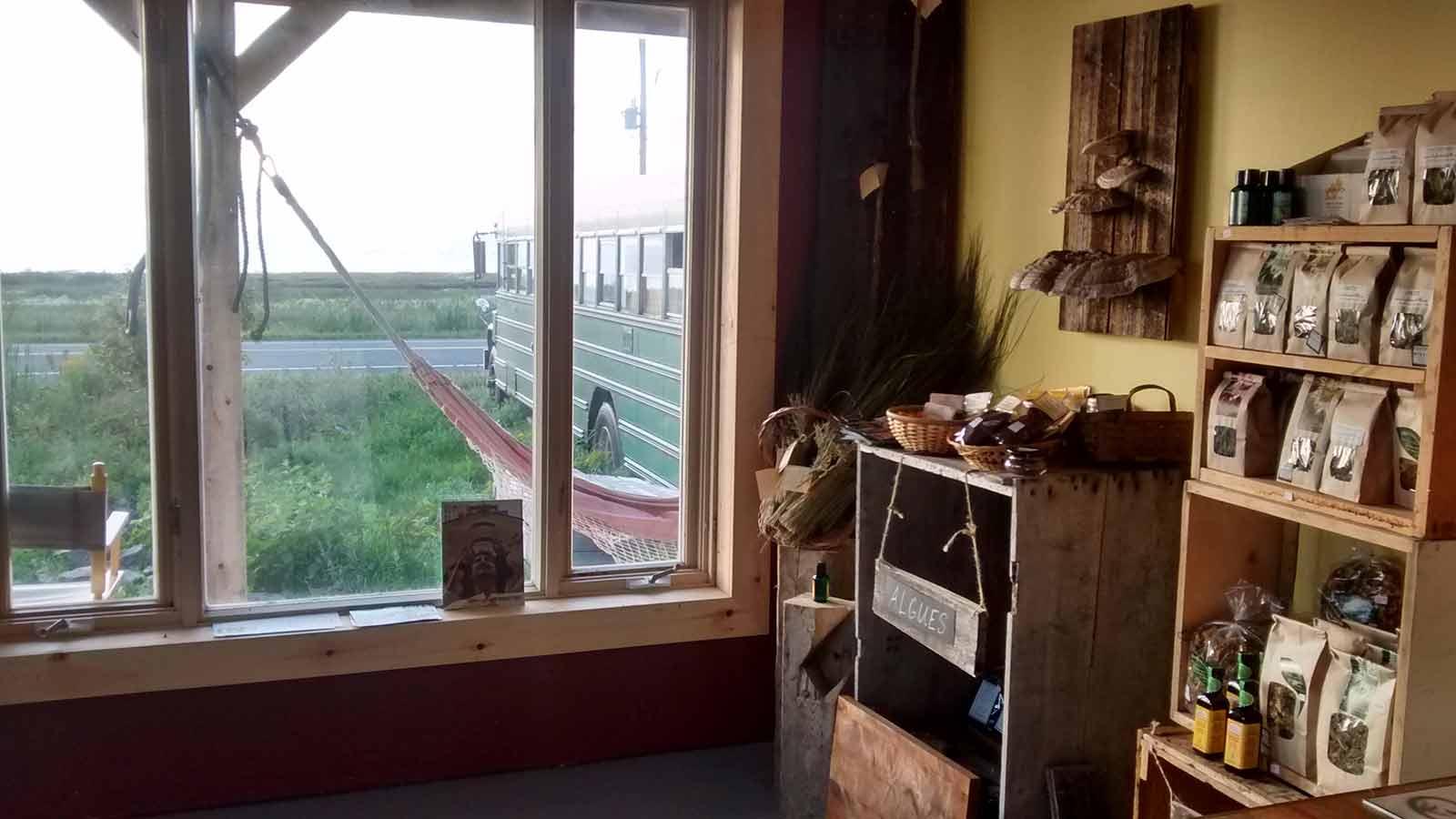 Boutique-atelier des Jardins de la mer
