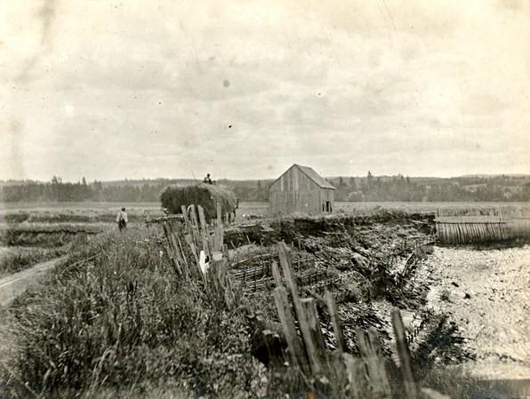 Un aboiteau en 1907