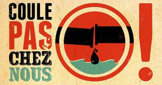 Logo de la campagne Coule pas chez-nous