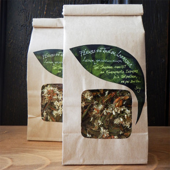 Tisane de fleurs de thé du Labrador