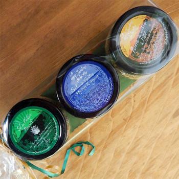 Trio d'épices 2 sels et un poivre à l'ail