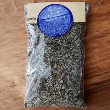 Épice sel de plantes aux algues
